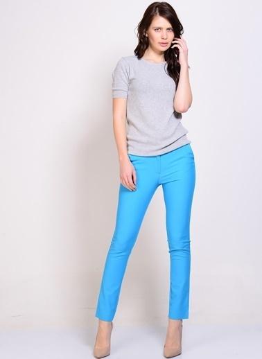 Limon Company Slim Fit Pantolon Turkuaz